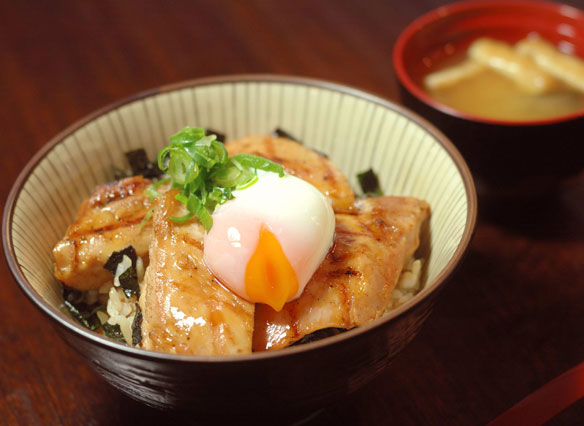 Try our Japanese style donburi dishes.